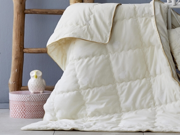 Wool Baby Quilt 95 x 145 cm