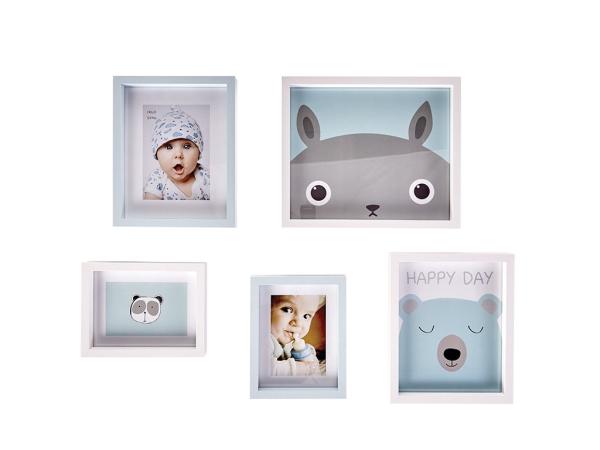 5 Pieces Happy Boy Frame Set