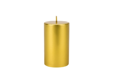 Sandy Candle 7 x 12 cm - Gold