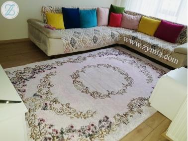 Cover Carpet Velvet Silk Elastic 170 x 250 cm - Colored