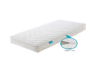 Comfort Baby Bed Mattress (Thickness: 10 cm) - White