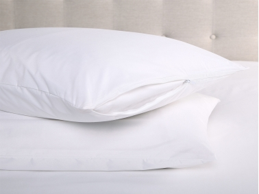 Waterproof Microfiber Pillow Baby Protector 35 x 45 cm - White