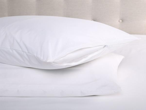 Waterproof Microfiber Pillow Baby Protector 35 x 45 cm - White
