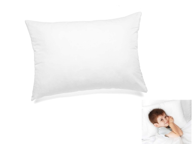Silicone Baby Pillow 35 x 45 Cm - White