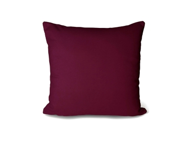 Cover Cushion Velvet June Decorative Double Side 43 x 43 Cm - Plum