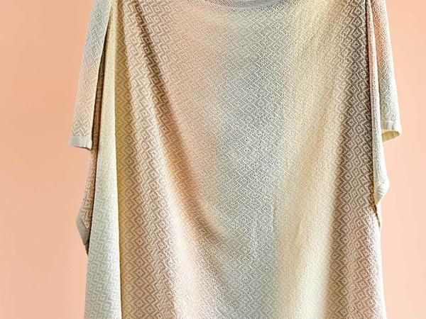 Dia Cotton Double Bedspread 200 x 225 cm - Beige