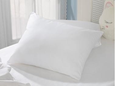 Bedtime Silicone Baby Pillow 35 x 45 Cm - White