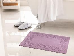Pure Basic Foot Towel 50 x 70 Cm - Dark purple