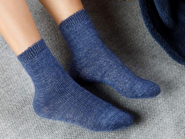 Elegance Polyamide Socks Standard - Indigo