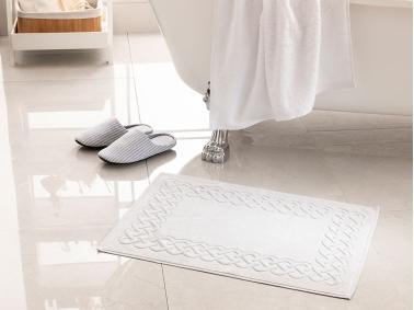 Pure Basic Foot Towel 50 x 70 Cm - Stone Color