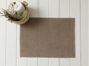 Vanity Brass Foot Towel 50 x 70 Cm - Dark Beige