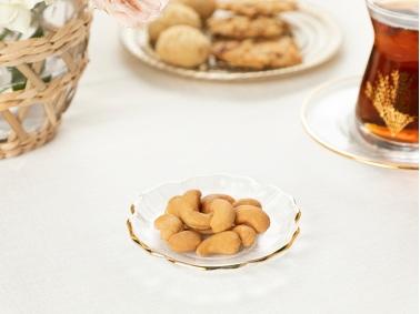 Moya Glass Appetizers Plate 9 cm - Transparent