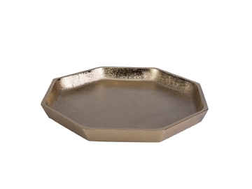 Hex Decorative Plate 28 cm