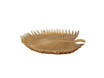 Gold Leaf 31 x 28 x 3 cm