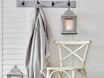 Delfina Cotton Double Pique 200 x 220 cm - Grey