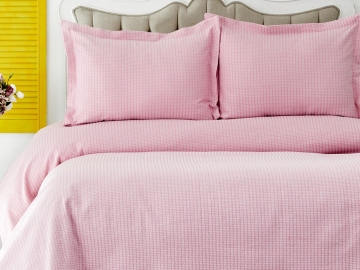 3 Pieces Cally Double Bedspread Set 230 x 240 cm - Pink