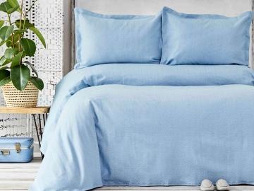3 Pieces Palvi Double Bedspread Set 230 x 240 cm - Blue