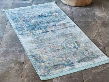 Gordion Carpet 80 x 150 cm - Blue