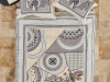 4 Pieces Zeugma Coffee Double Duvet Cover Set 200 x 220 cm - Multicolor