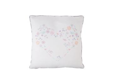 Elenie Printed Decorative Cushion 45 x 45 cm - Lilac