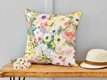 Seina Printed Decorative Cushion 45 x 45 cm - Multicolor