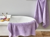 3 Pieces Love Is You Towel Set - Lilac
