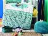 10 Pieces Bummer Cotton Baby Sleep Set 100 x 150 cm - İndigo