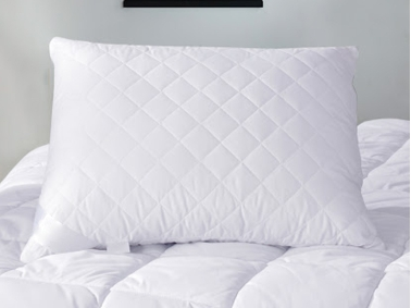 Microfiber Capitone Filled Pillow 50 x 70 cm ( 1000 gr ) - White